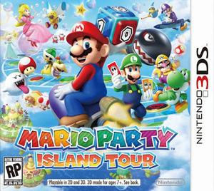 Mario Party: Island Tour 3ds Cia Free Multilenguaje Español Android Citra Pc