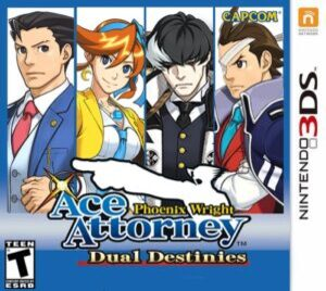 Phoenix Wright: Ace Attorney Dual Destinies 3ds Cia Free Multilanguage English Android Citra Pc