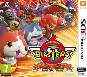 Yokai Watch Blasters: Red Cat Corps 3ds Cia Free English Android Citra Pc
